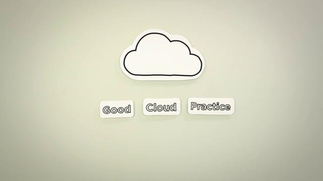 Use of animation in Cloud IT explanation