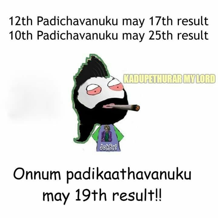Saw my birth date - so just pinned Actually the pic means - TN 2016 election results day