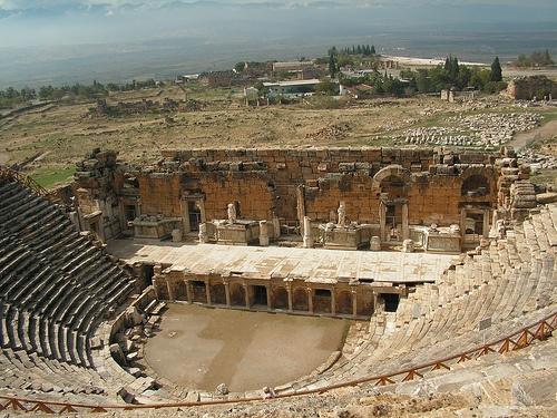 Hierapolis Roman Theatre, Turkey