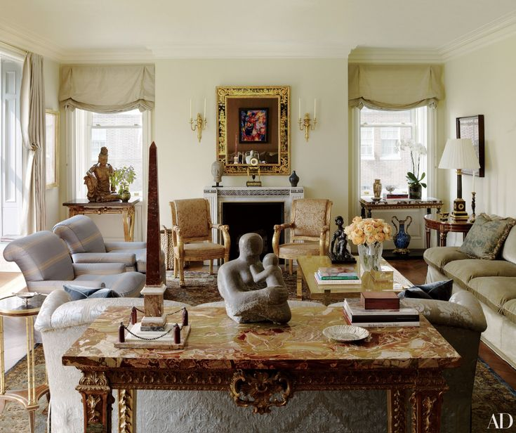 14 of AD's Most Extravagant Marble Fireplaces