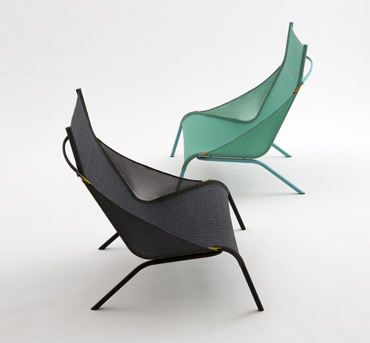 Benjamin Hubert Tent Chair Layer Design Moroso Designboom