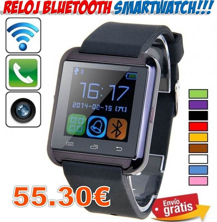 #ofertas #descuentos #yougamebay #telefonia #moviles #smartwatch #relojes Reloj inteligente Smartwatch para teléfonos móviles http://www.yougamebay.com/es/product/reloj-inteligente-bluetooth-telefonos-moviles-smartphones