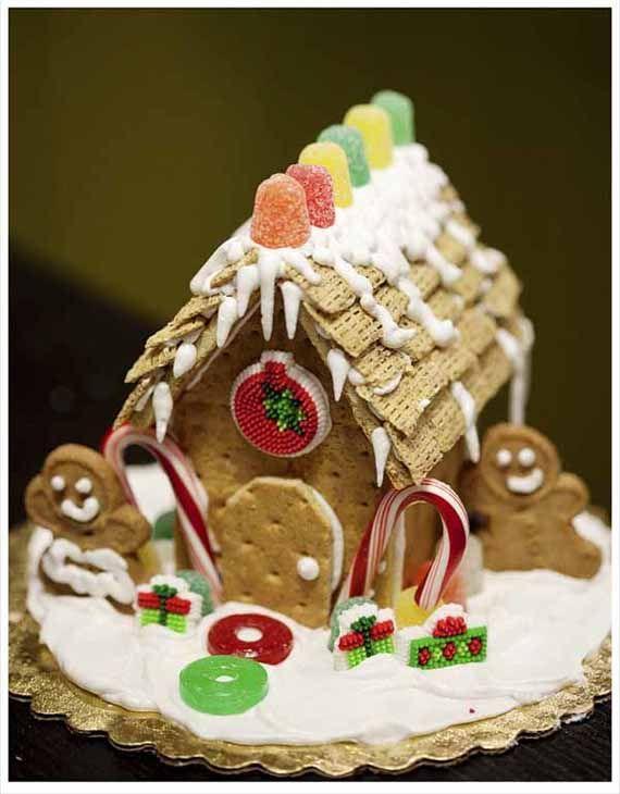 casita de galletas  #navidad @christmas #recipes #recetas