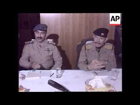 Iraq Television Pictures Of Saddam Hussein In 2020 Saddam Hussein Iraqi President Iraq