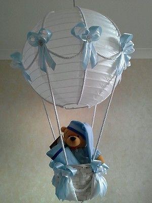 Winnie Pooh En Globo aerostático Vivero cortina de lámpara de luz ♥ hecho a pedido   Baby, Nursery Decoration & Furniture, Lamps & Shades   eBay!