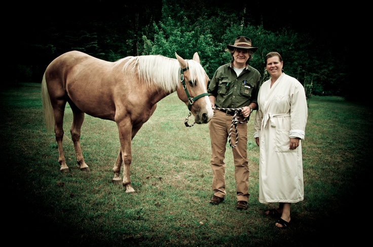 Meeting the horse whisperer at Grail Springs Health and Wellness Spa #bliss #Ontario