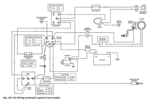 Electrical John Deere 318 Wiring Diagram