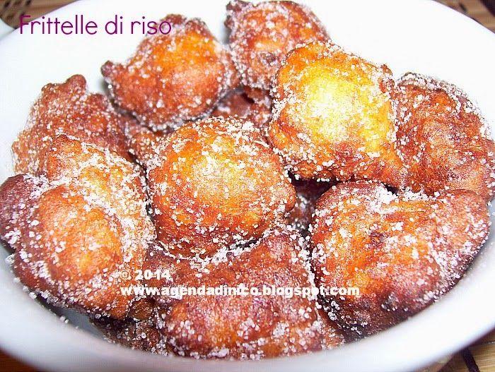 Agenda di Nico: Frittelle dolci di riso / Gogosi dulci de orez
