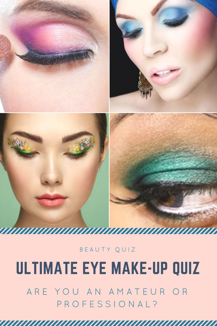 Whether you're an amateur or self-proclaimed professional, you know your eye makeup can either make or break your entire look. Take this quiz and find out just how much you know about eye makeup.