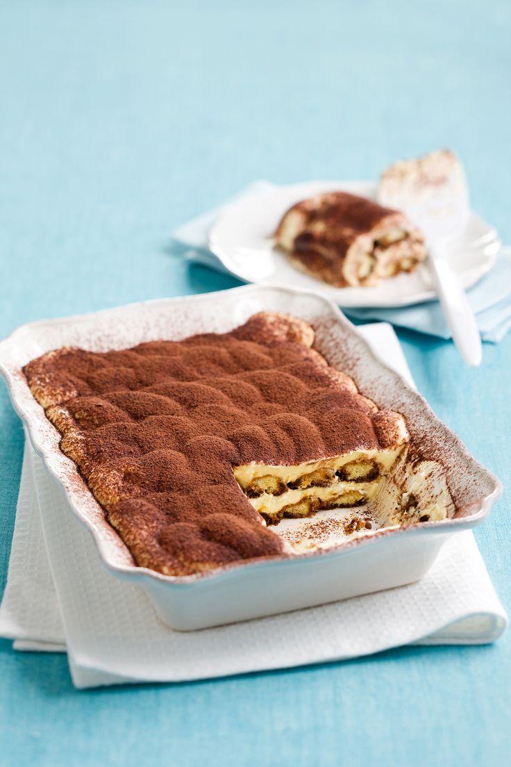 Tiramisù - è un dolce diffuso in tutta Italia, le cui origini vengono spesso contese fra le varie regioni