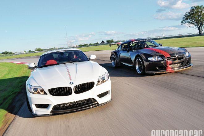 2010 BMW Z4 35i and 2006 BMW Z4 M Coupe