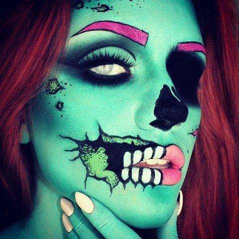 264 best pretty halloween makeup images on pinterest fx - Halloween schminkideen ...