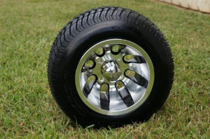 Golf Cart Wheels And Tires Cheap
