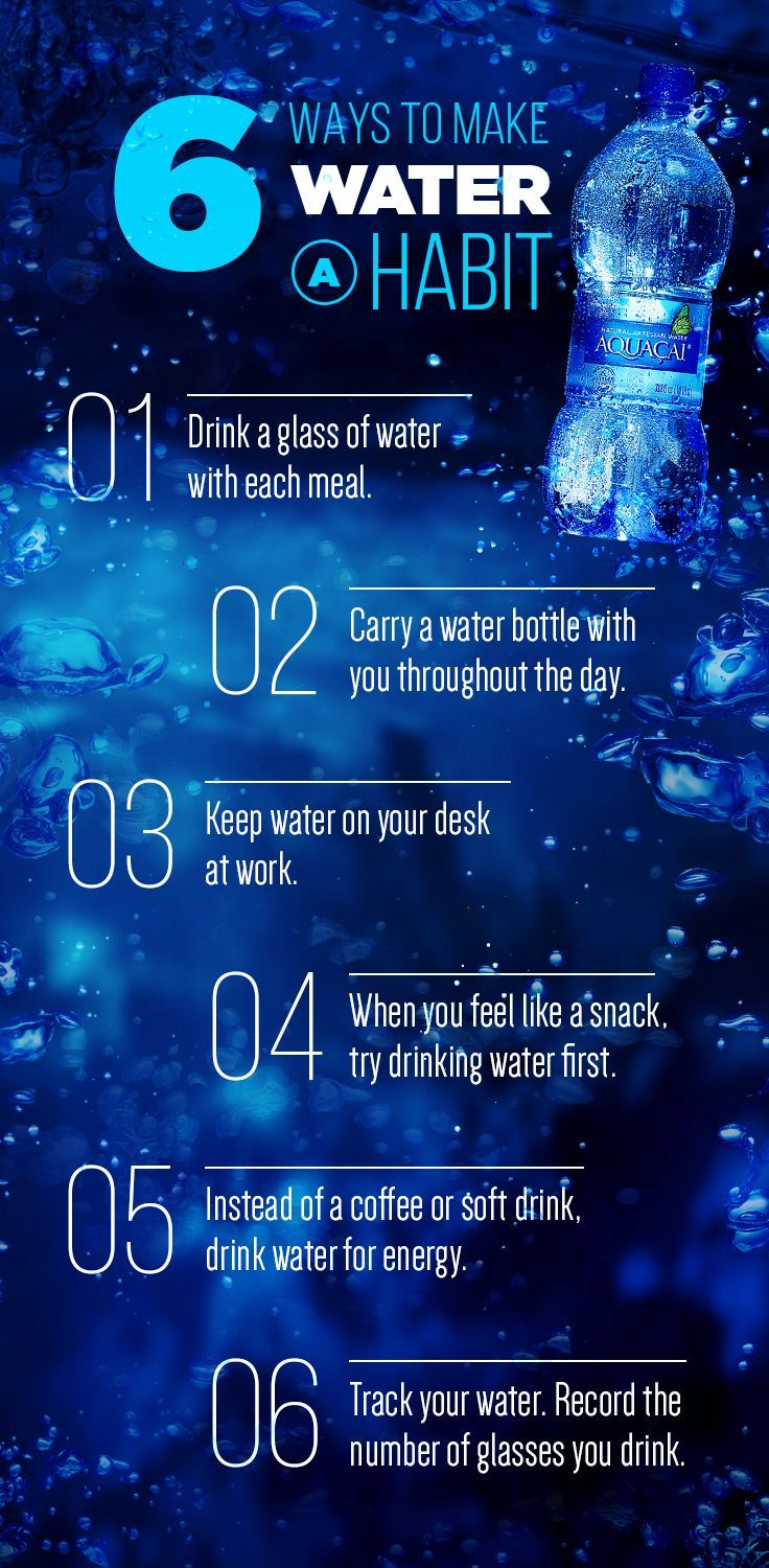 drinking water is one of the healthiest habits you can create here are some tips