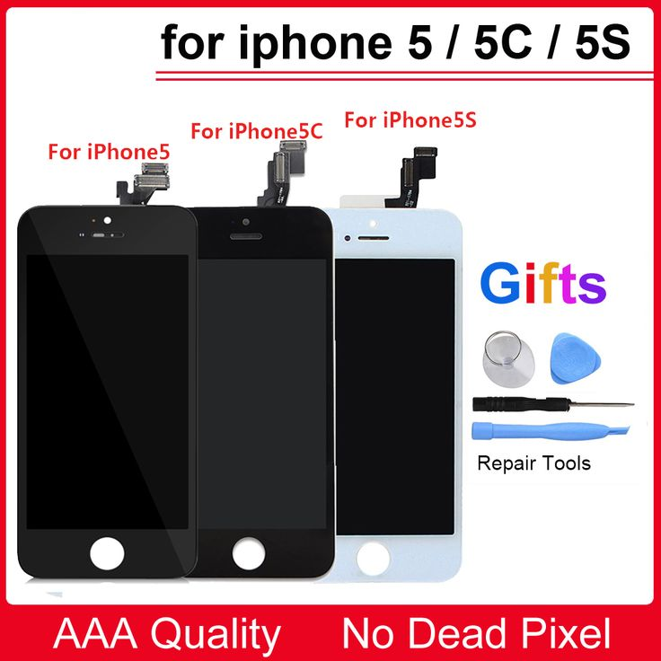 Hot Offer 100% A+++ Quality LCD Assembly For iPhone 5 5S 5C LCD Display with Touch Screen Digitizer for iPhone 6 7 LCD Screen .....Click Link To Check Price