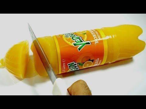 Gazlı İçecekten Jelibon Yumuşak Şeker Nasıl Yapılır - #SYTV Dolu Yedigün Şişesi Kestim - YouTube