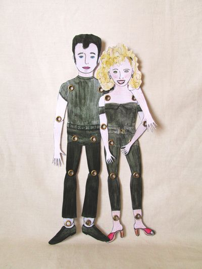 Sandy Dee y Danny Zuko.