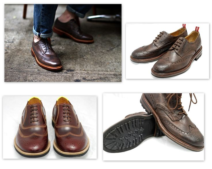 Brogue inspirations - George's Roma www.georges.it