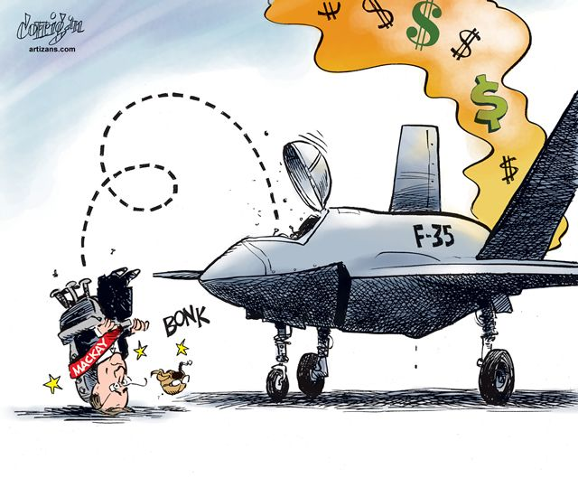 The F35 is a pointless waste of $24 BILLION of Australian taxpayer funds.