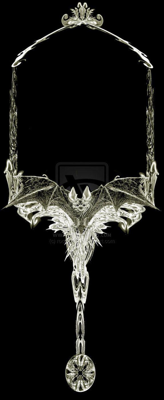 Image Detail for - Gothic Hand-Mirror Frame II by *rockgem on deviantART