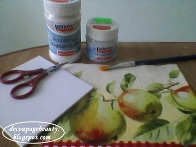 Decoupage tutorial – notiuni fundamentale