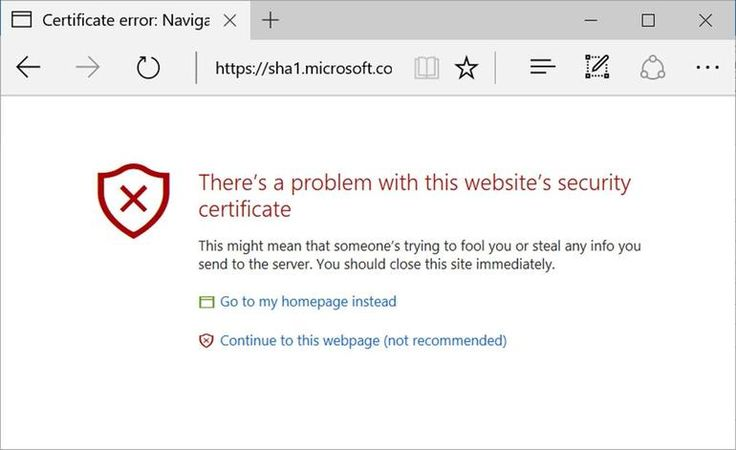 Windows 10 Edge, IE: We're now blocking sites signed with SHA-1 certs, says Microsoft