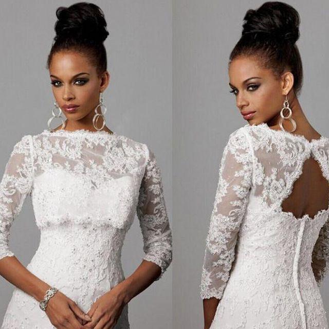 Болеро кружево свадебное платье