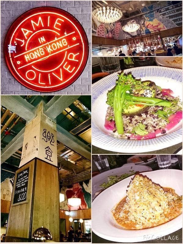 Dinner at Jamie Oliver, Tsim Sha Tsui, Hong Kong.