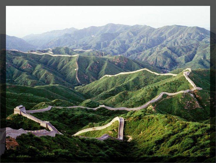 Velká čínská zeď v oblasti Beijing (Čína)