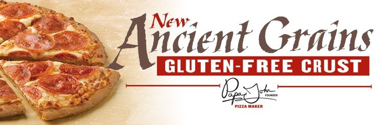 Did you know you Papa Johns now has a pizza crust made with sorghum flour  on thier menu? Try it for yourself!