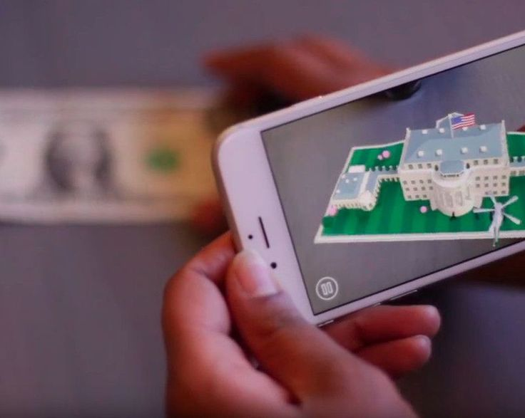 White House's '1600' app brings your dollar bill to life     - CNET The buck pops here. Photo by                                            The White House (video screenshot by CNET)                                          In the age of Snapchat filters and Pokemon Go the White House has come up with a new way to teach kids of all ages the history of the Peoples House: an augmented reality app that brings a dollar bill to life.  All youll need is a buck and a phone. Once you download the…