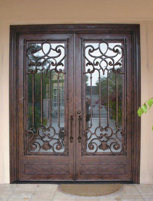 31 best home depot exterior doors images on pinterest entrance doors front doors and front - Iron security doors home depot ...