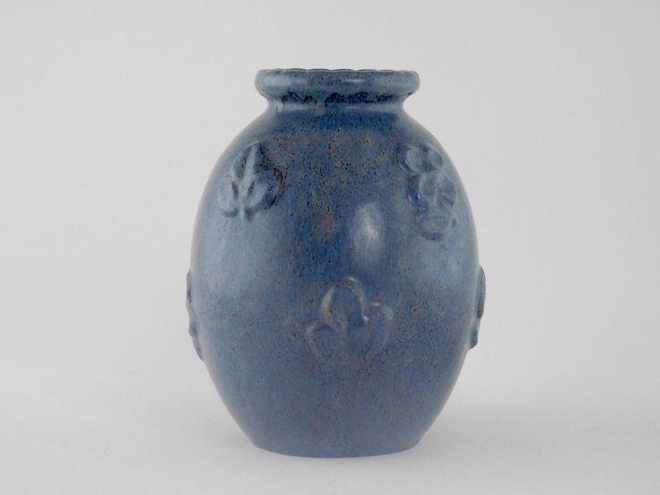Michael Andersen. Vase med bladmønster