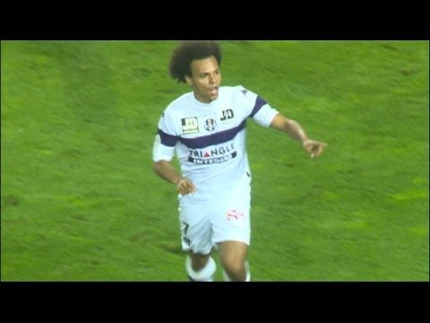 FOOTBALL -  But Martin BRAITHWAITE (57') - SC Bastia - Toulouse FC (2-1 - 2013/2014 - http://lefootball.fr/but-martin-braithwaite-57-sc-bastia-toulouse-fc-2-1-20132014/