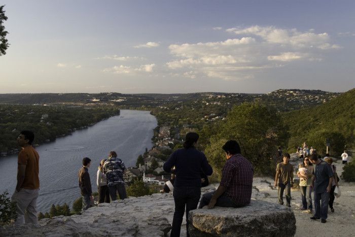 5. This hike can get quite busy, but the views and chill vibes of Mt. Bonnell are more than worth it.