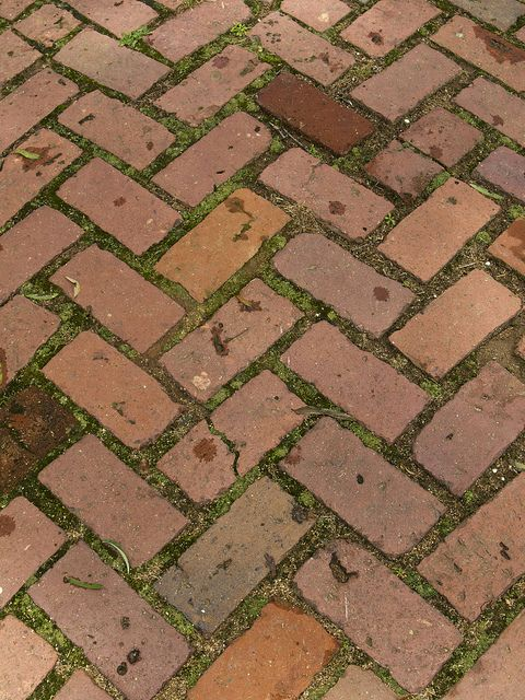 Beautiful Brick placement for garden or deck P7010531 | Flickr - Photo Sharing!