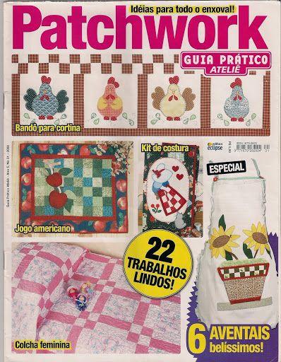 38 Guia Prático Atelie patchwork n. 31 - maria cristina Coelho - Picasa Web Albums...