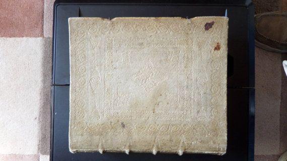 RARE Antique Magnum Speculum Exemplorum 1747 by FromDECOtoDISCO