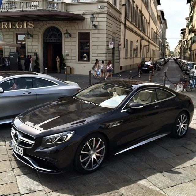 The S63 AMG Coupe