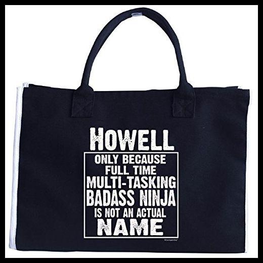 Howell Cos Multi-tasking Ninja Is Not An Actual Name - Tote Bag