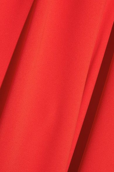 Alice Olivia - Trinity Cutout Stretch-crepe Jumpsuit - Red - US