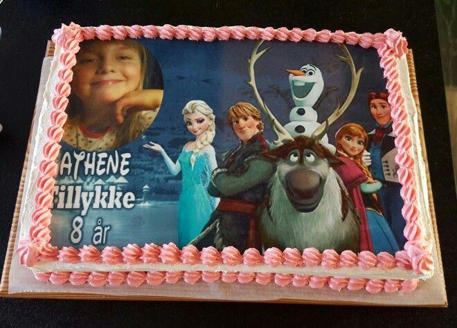 Photo cake #kagemedbillede #kage kan bestilles hos www.trenducover.dk