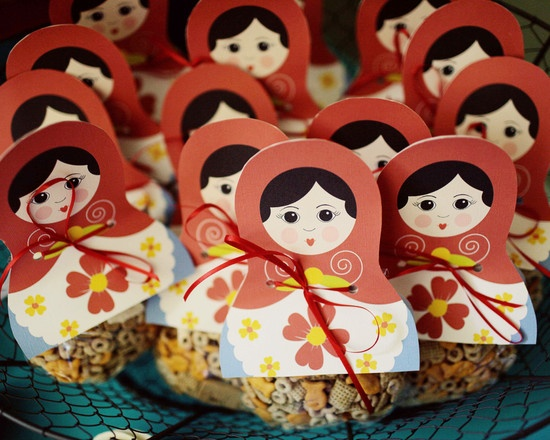 Russian Doll Themed Birthday Party
