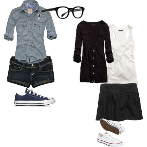 cute nerd outfits for nerd day | Polyvore Nerd Outfits http://www.polyvore.com/cute_nerd/set?id ...