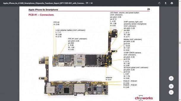Iphone 6, 6s Full Schematic Diagram Full Circuit Diagram | Iphone parts,  Iphone 6, Iphone 5sPinterest