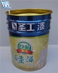 Buy 20L chemical/paint metal pail with good quality lock ring lid and metal handleChemical Packaging on bdtdc.com