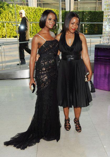 Tika Sumpter Fishtail Dress - Tika Sumpter looked divine at the 2011 CFDA Fashion Awards in a black lace fishtail dress.