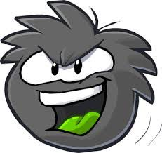 The black puffle loves cart Surfing and can be bought from the pet store for members only.