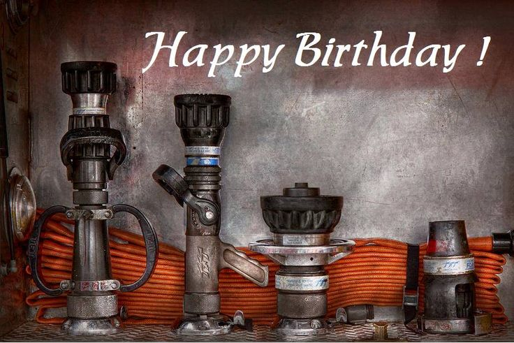 Happy Birthday Firefighters Birthday Cards & More