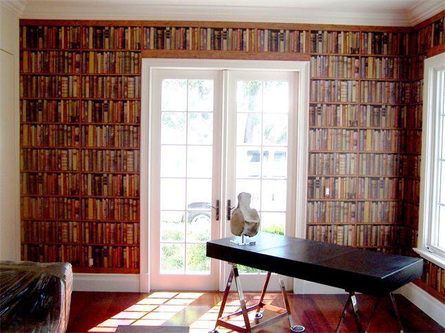 andrew martin library/multi wallpapernice installation